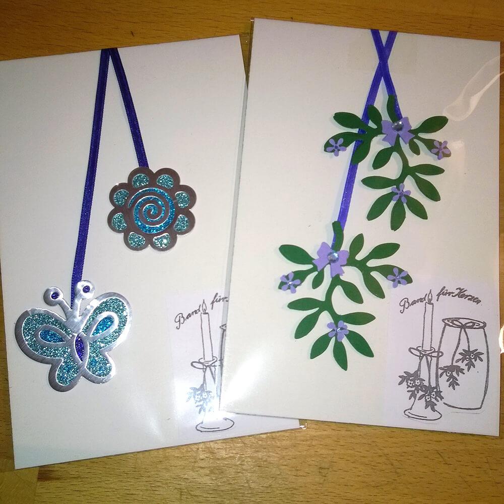 Kleine Kunststube - Kunstgewerbe - Windlichtbänder